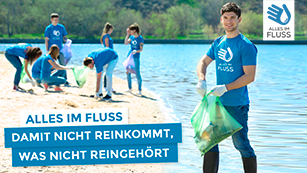 Aktionsposter Alles im Fluss