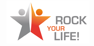 Rock your life Logo
