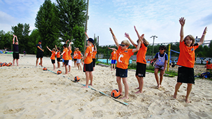 BWB SCC Juniors Volleyball Beach Camp